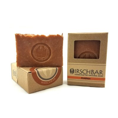 seasonal pumpkin scented soap