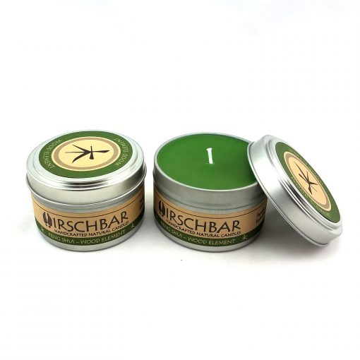 Wood Element Soy Candle